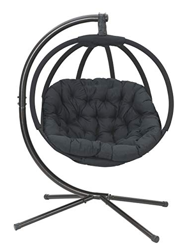 Hanging Ball Chair with Stand | Flower House