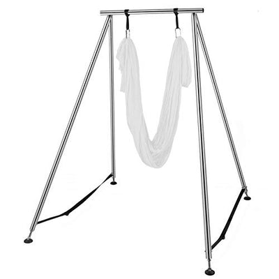 Happybuy Yoga Sling Inversion, 68lbs Inversion Yoga Swing Stand