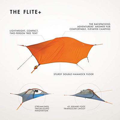 Flite+ Tree Tent Orange: Tentsile