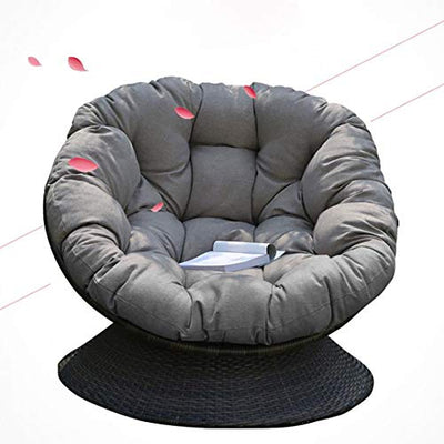 YB&GQ Papasan Chair Cushion,Outdoor Egg Chair Pads