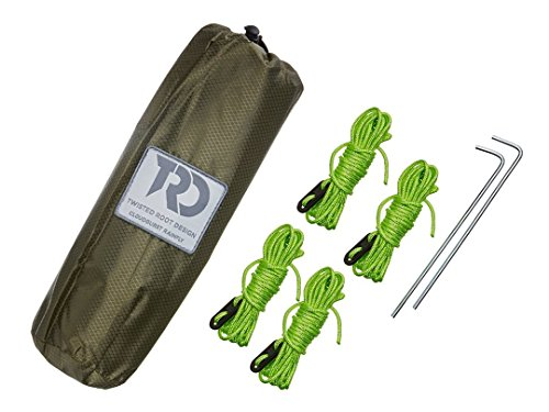 Twisted Cloudburst Hammock Rainfly/Tarps: Dark Green