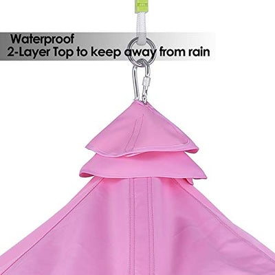 GARTIO Hanging Tree Tent, Swing Play House: Pink