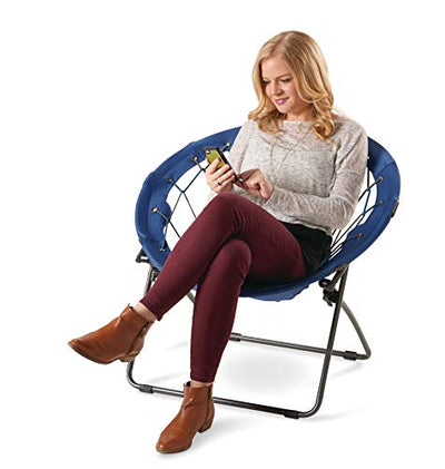 Blue Bungee Chairs (Pack of 2)