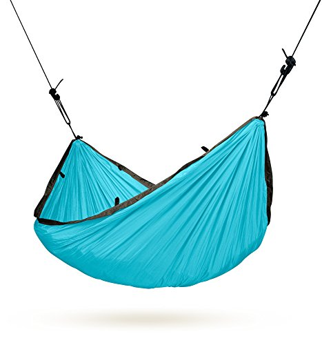Parachute Silk Single Travel Hammock with Suspension [4 Colors]