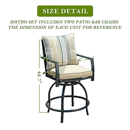 Patio Bar Height Chairs