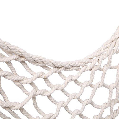 Hanging Soft Cotton Rope Hammock Chair Swing Seat
