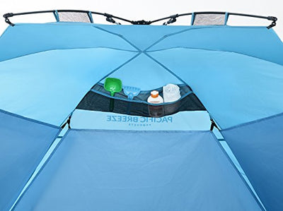Pacific Breeze Easy Up Beach Tent Deluxe XL