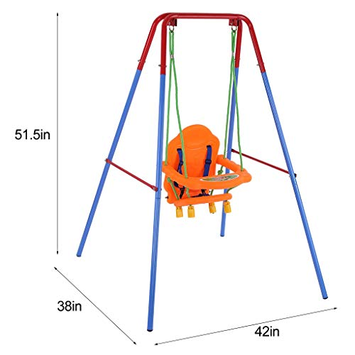 A-free Baby Swing for Toddler with Safety Harness
