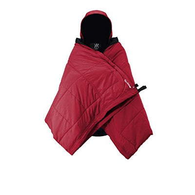 Kijaro Kubie Versatile, Multi Use Outdoor Product Configuring into a Hammock, Sleeping Bag, Poncho, Blanket, Shade Canopy for Camping, Travel, and Sideline Sport Games, Red Rock Canyon