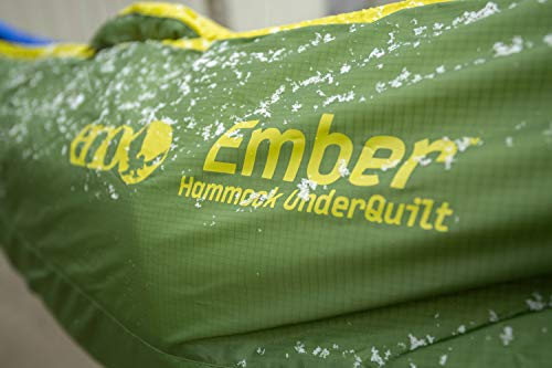 ENO, Eagles Nest Outfitters Ember UnderQuilt Hammock Insulation for Spring and Fall