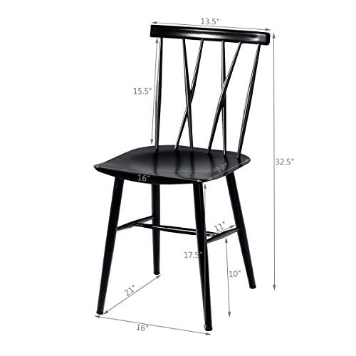 Chic Bistro Cafe Side Chair Side Chair
