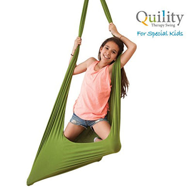 Therapy Swing for Kids with Special Needs: Green