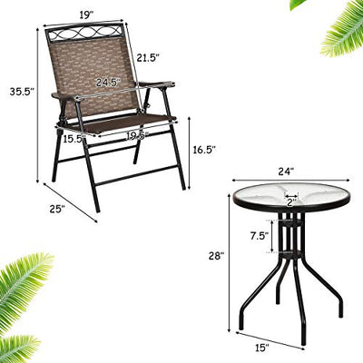 Outdoor Table and Chairs for Garden