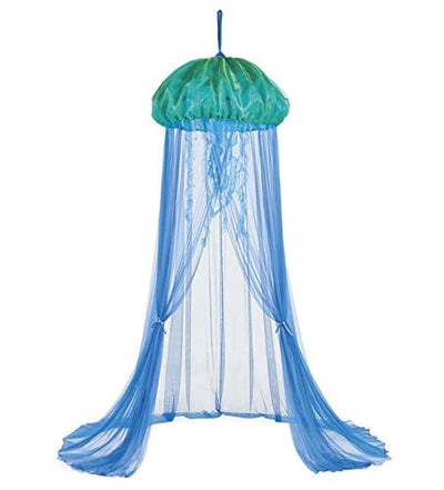 HearthSong Aquaglow Jellyfish Hideaway Bed Canopy