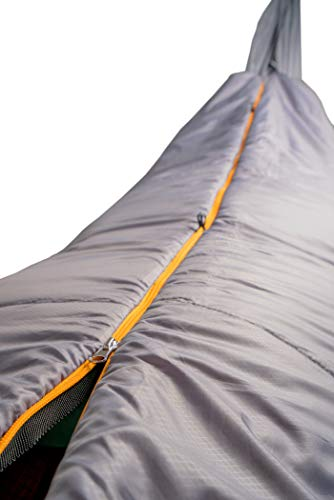 TETON Sports Firefly Underquilt Sleeping Bag; Ultralight Backpacking Sleeping Bag for Hiking and Camping Outdoors; Add it to Your Hammock and Sleep Warm and Comfortable Anywhere; Stuff Sack Included