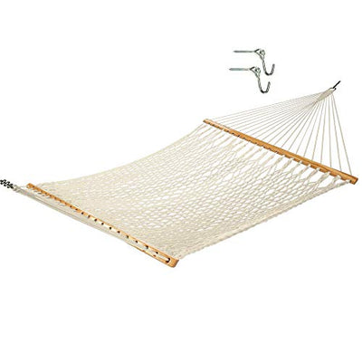 Castaway Hammocks 13 ft. Traditional Cotton Rope Hammock