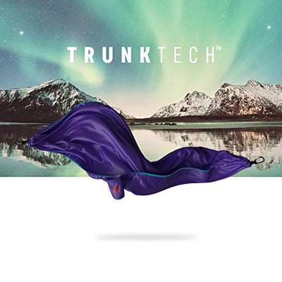 Grand Trunk TrunkTech Double Hammock: Aqua/Violet