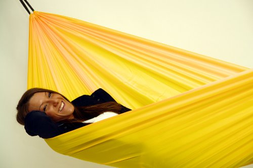Traveller Lite Yellow: Ultralight Camping Hammock