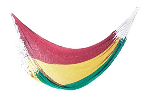 Medium image of organic cotton double hammock