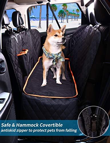HANSPROU Waterproof Dog Car Seat Cover