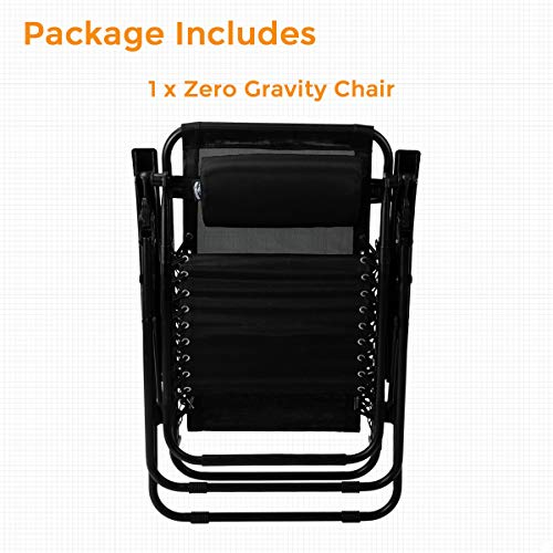 Adjustable Zero Gravity Chair Folding Patio Recliner
