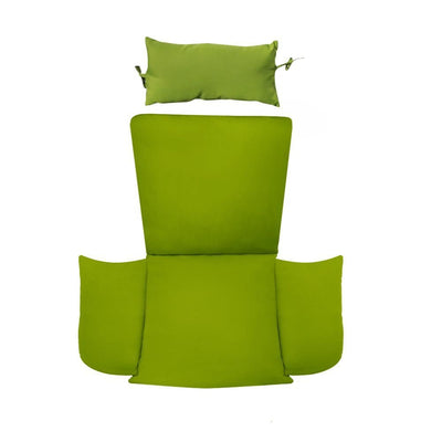 Island Gale Wicker Chair Cushion: Green