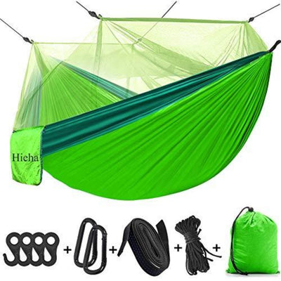 Hieha Camping Hammock with Mosquito Net