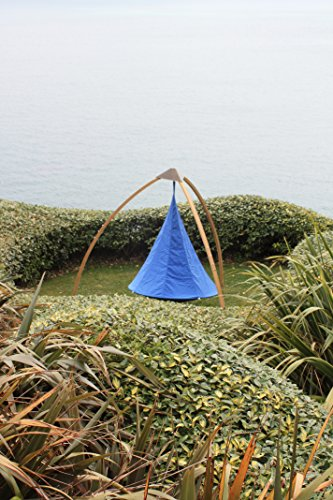 Single Cacoon Hammock in Sky Blue