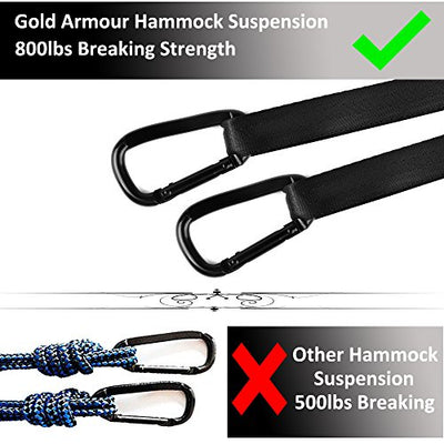 Gold Armour Camping Hammock