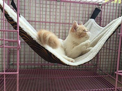 UsefulThingy Easy to Attach to a Cage Cat Hammock
