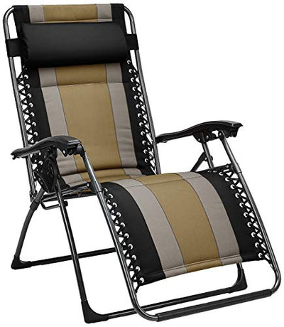 Padded Zero Gravity Patio Chair