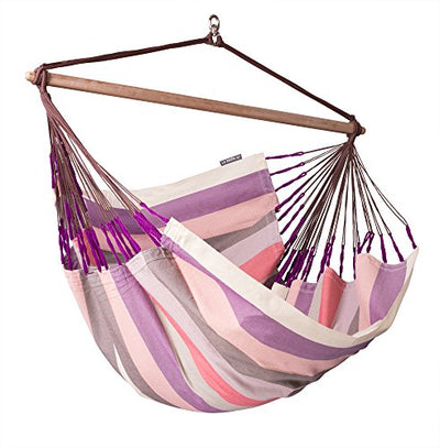 LA SIESTA Lounger Swing Hammock Chair with Spruce Stand