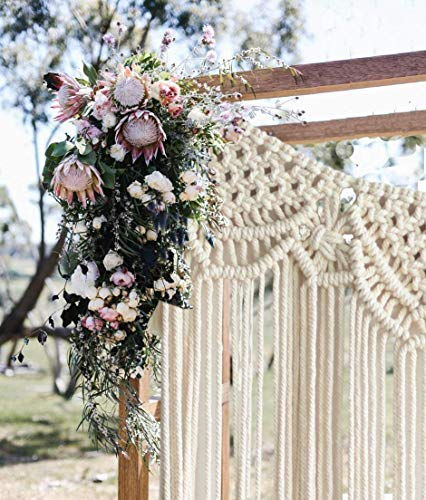 Macrame Boho Wedding Wall Hanging Decor
