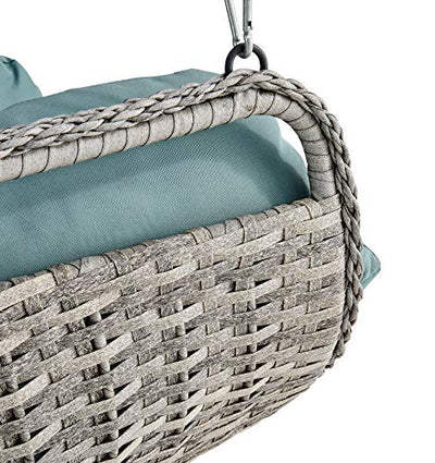 Barton Patio Hanging Lounge Chair Indoor/Outdoor Lounge with Armrest