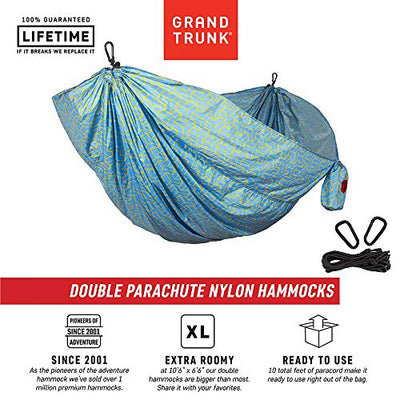 Grand Trunk Double Parachute Printed Nylon Hammock: Yamabushi