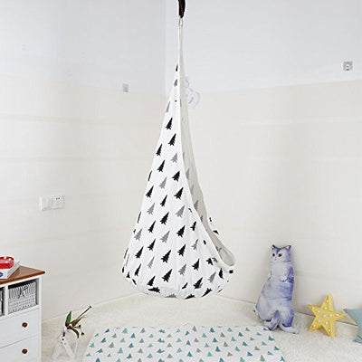 Kids Pod Swing Hammock Tent Nook For Kids