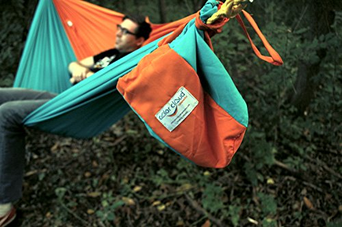 Sunshine Double Hammock in Orange