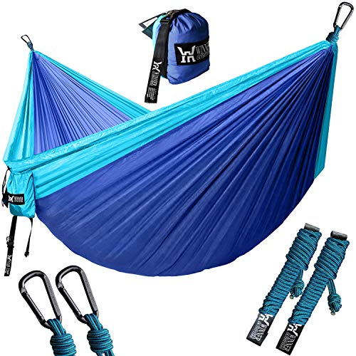 Yard x 78 W Travel WINNER OUTFITTERS Double Camping Hammock Camping Beach 118 L Best Parachute Double Hammock for Backpacking Lightweight Nylon Portable Hammock