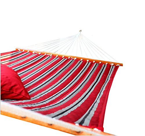Amber Home Goods AASQH-1904 Quilted Hammock, Red