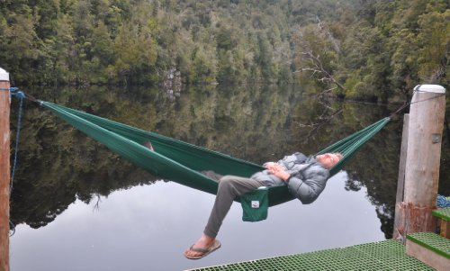 Portable Single Hammock