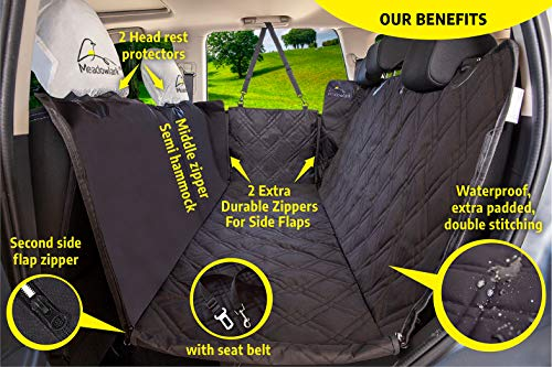meadowlark dog car seat covers unique design full car protection
