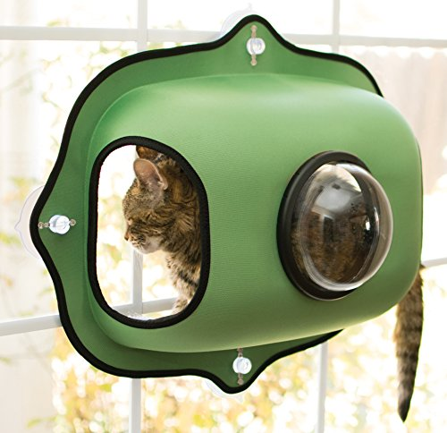 K&H Manufacturing EZ Mount Window Bubble Pod, Green