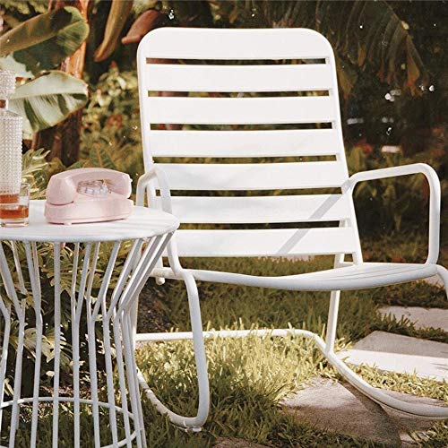 Novogratz Poolside Roberta Outdoor Rocking Chair