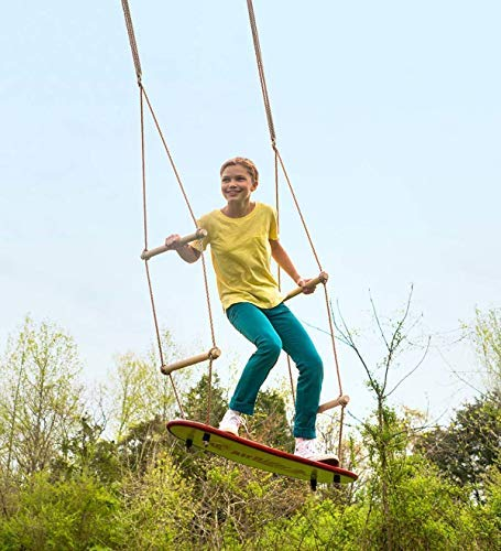 HearthSong Weather-Resistant Air Rider Surf Swing