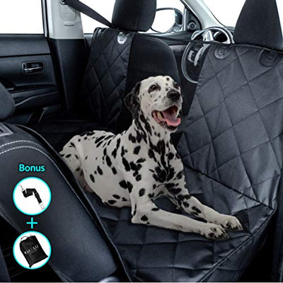 Kululu Dog Car Seat Cover for Back Seat