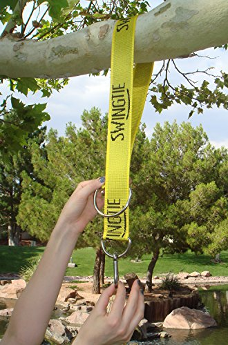 The Original Swing Tie - Easy & Fast Swing Hanger Installation to Tree (Set of 2 Tree Hanging Swing Straps)