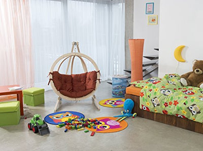 Byer of Maine Globo Kids Chair & Stand: Terracotta Agora