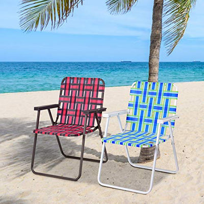 Giantex 6 PCS Folding Beach Chair