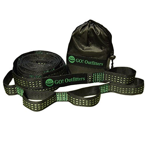 Go Outfitters Quick Link Hammock Tree Straps Set