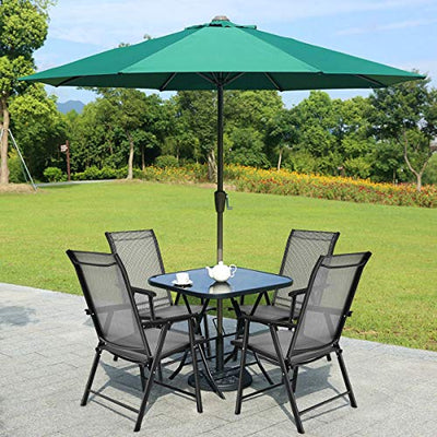 Folding Patio Chairs with armset